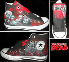 Walking Dead Converse- Part 1 by GamerGirl84244