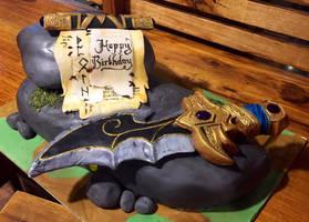 Dagger Cake by GamerGirl84244