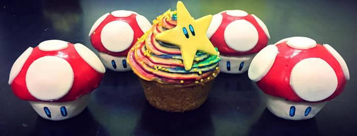 Mario Kart Cupcakes by GamerGirl84244