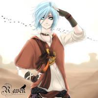 Raven the jolly assassin by Sloartist-Raven