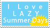 Lazy Days Stamp by Mel-Rosey