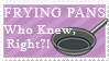 Frying Pan Stamp by Mel-Rosey