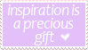 Inspiration Stamp by Mel-Rosey