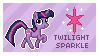 Twilight Sparkle Stamp by Mel-Rosey