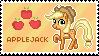 Applejack Stamp by Mel-Rosey