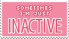 Inactive Stamp by Mel-Rosey