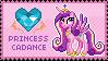 Princess Cadance Stamp by Mel-Rosey
