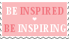 Inspire Stamp by Mel-Rosey
