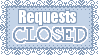 Request Closed Button Closed by Mel-Rosey