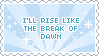 Break of Dawn Stamp by Mel-Rosey