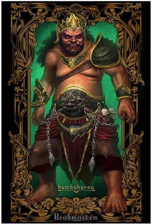 Brahmastra concept character : Kumbakarna by macarious