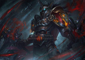 Unholly Death Knight by macarious