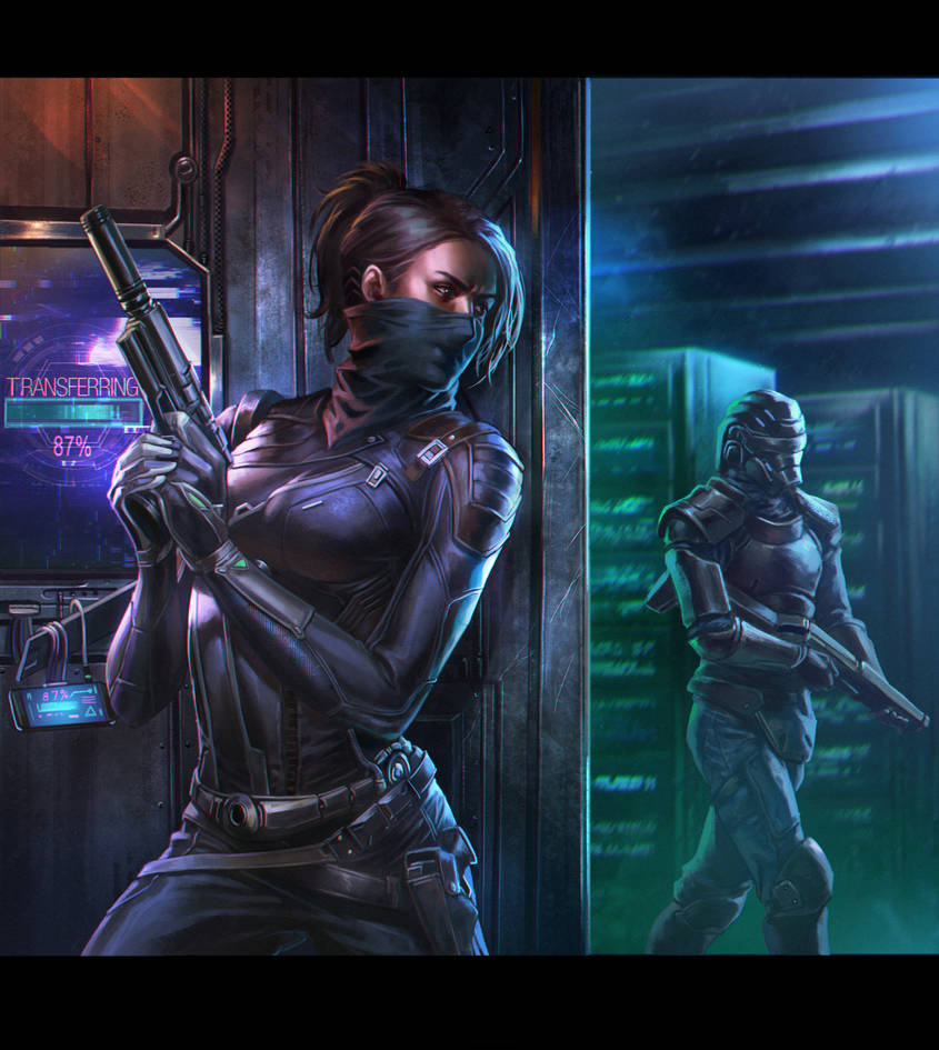 cyber thief by macarious