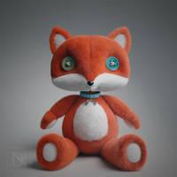Fox Mascot by donavanneil