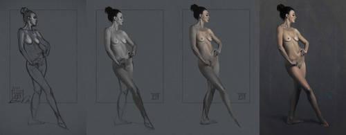 Figure Study Progression by donavanneil