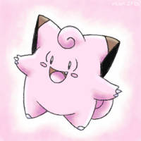 Clefairy by stardroidjean