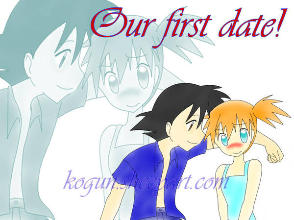 Our first date