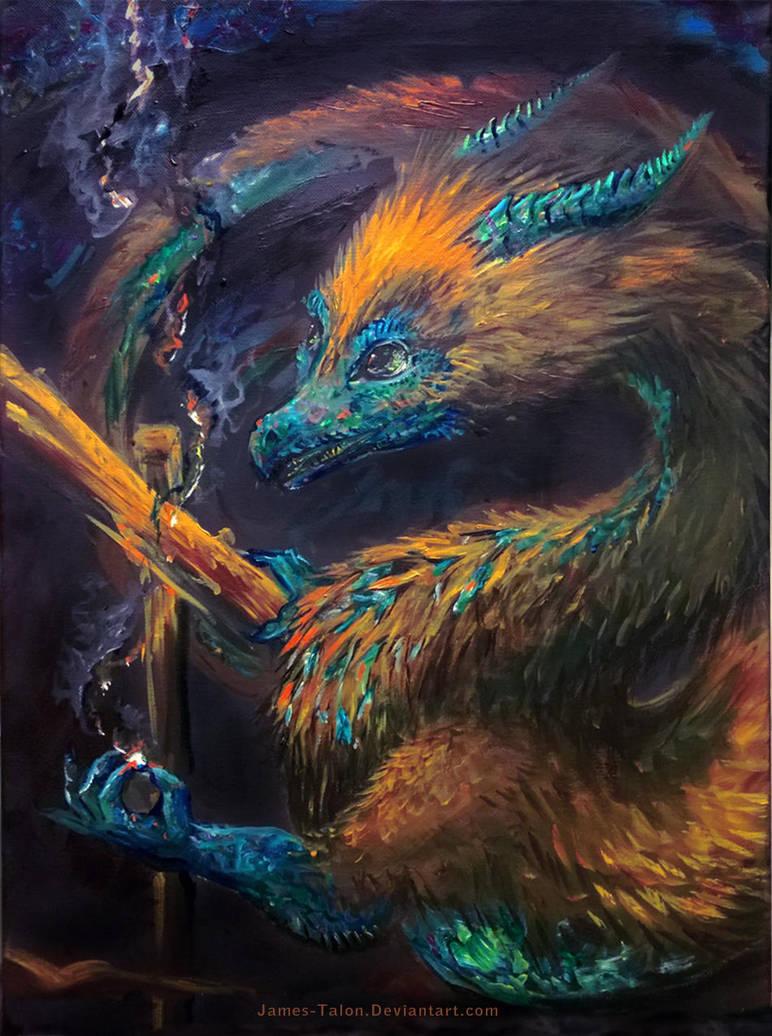 Opal Dragon by james-talon