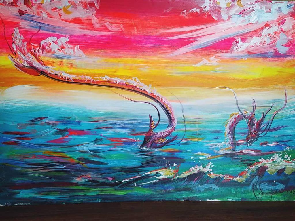 Waterdragon by james-talon