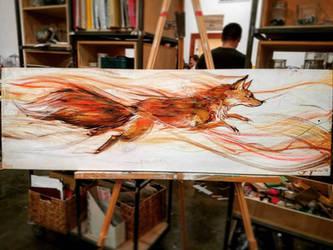 Fox swish by james-talon