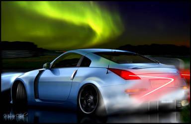 350Z Drifting by MoncefFaik