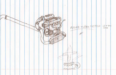 A20-T Sketch by MoncefFaik