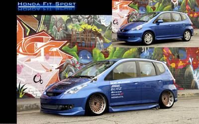Honda Fit by MoncefFaik