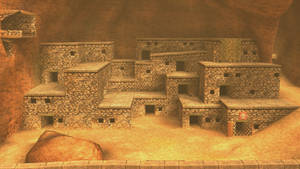 SSBB Stages - OoT3D Gerudo Fortress (Final) by DSX8