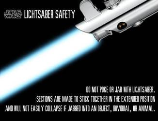 Lightsaber Safety by Salamandelstro