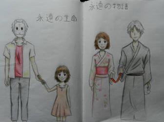 Connected (Hotarubi no Mori e) by AdorataSrdenkova