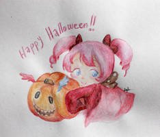 Charlotte wishes you a Happy Halloween [PMMM] by Loveando