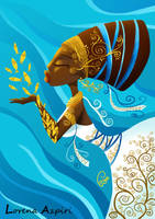 Godness of sea by LorenaAzpiri