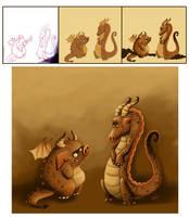 How to draw your dragon! by LorenaAzpiri