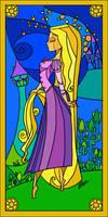 Rapunzel by LorenaAzpiri
