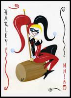 Harley Quinn by LorenaAzpiri