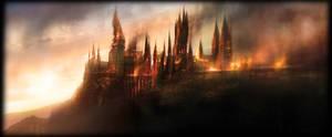 Hogwarts is burning by Lost-in-Hogwarts
