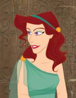 The greek lady by SerifeB