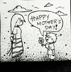 Another Mother's Day Doodle... by NerdyButSweet