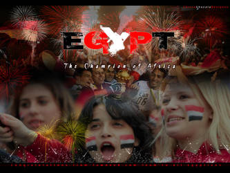 EGYPT the champion of AFRICA by ChiccoGhazala