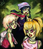 Post-Apocalyptic Princesses by LizbethLizard