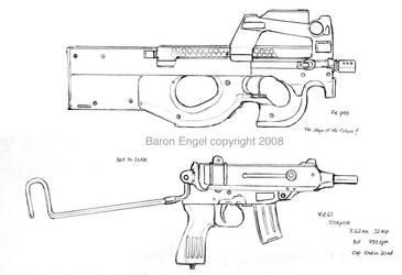 FN P90 Vz61 Skorpion by Baron-Engel