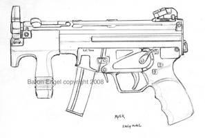 HK MP5K by Baron-Engel