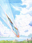 Sonic Rainboom in 3...2...1 by Baron-Engel