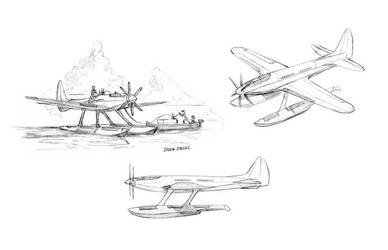 High speed floatplane by Baron-Engel