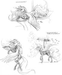 Action Celestia by Baron-Engel