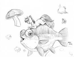 Derp Dream Fish by Baron-Engel