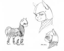 Alpine earth pony armor 01 by Baron-Engel