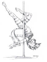 Striped pole by Baron-Engel