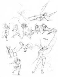 Quick thumbnails 01 by Baron-Engel