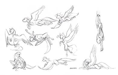 Pegasus thumbnails 01 by Baron-Engel
